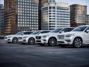 Volvo Cars Plug-In Hybrid line-up