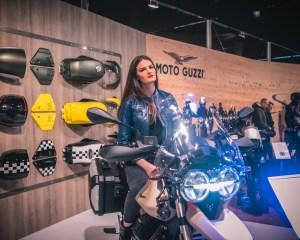 MBE stand Moto Guzzi
