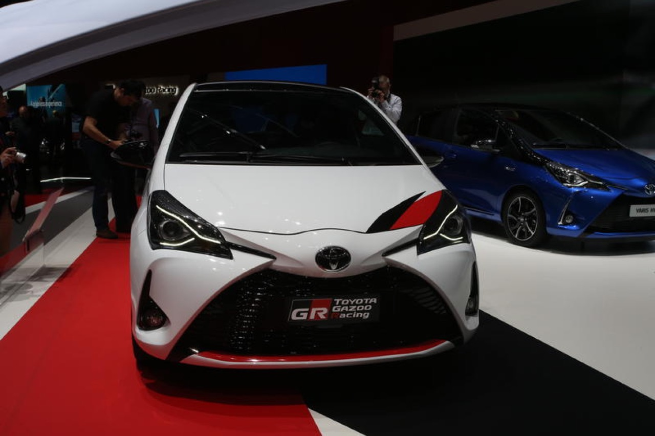toyota yaris trd turbo all new camry thailand grmn salone di ginevra 2017 2 10