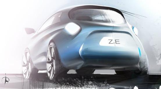 Renault Zoe, anteprima della progettazione della nuova elettrica francese