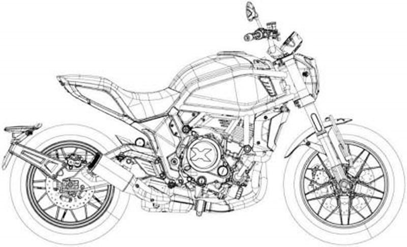 โผล่สิทธิบัตร CF Moto 650X ว่าที่น้องใหม่เน้นงานออกแบบ