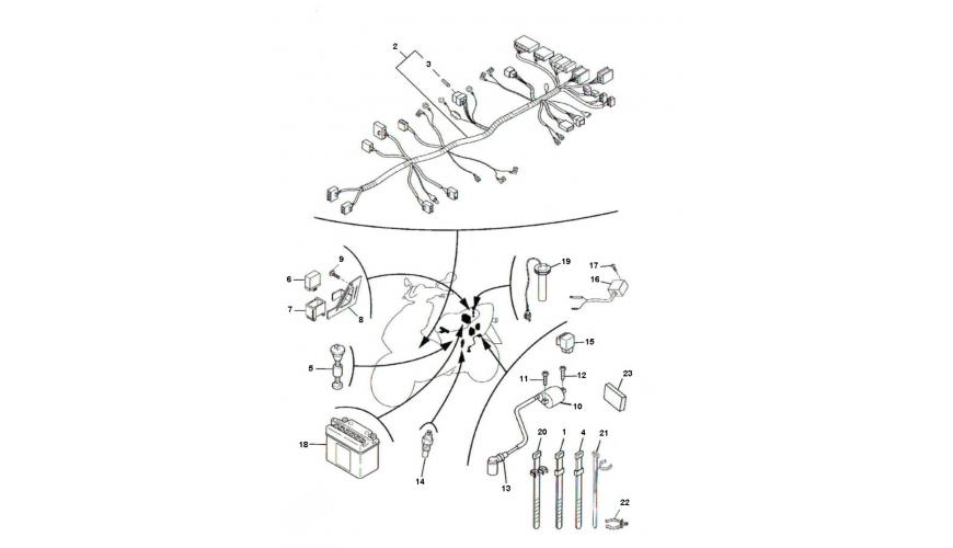 Schema Electrique Derbi 50cc