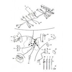 250cc Quad Bike Wiring Diagram Of A Microscope And Functions Its Parts Faisceau éléctrique Pour Nitro Et Aerox - Motorkit