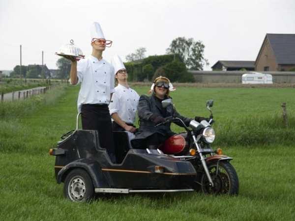 Onderweg gezien: Guzzi Catering