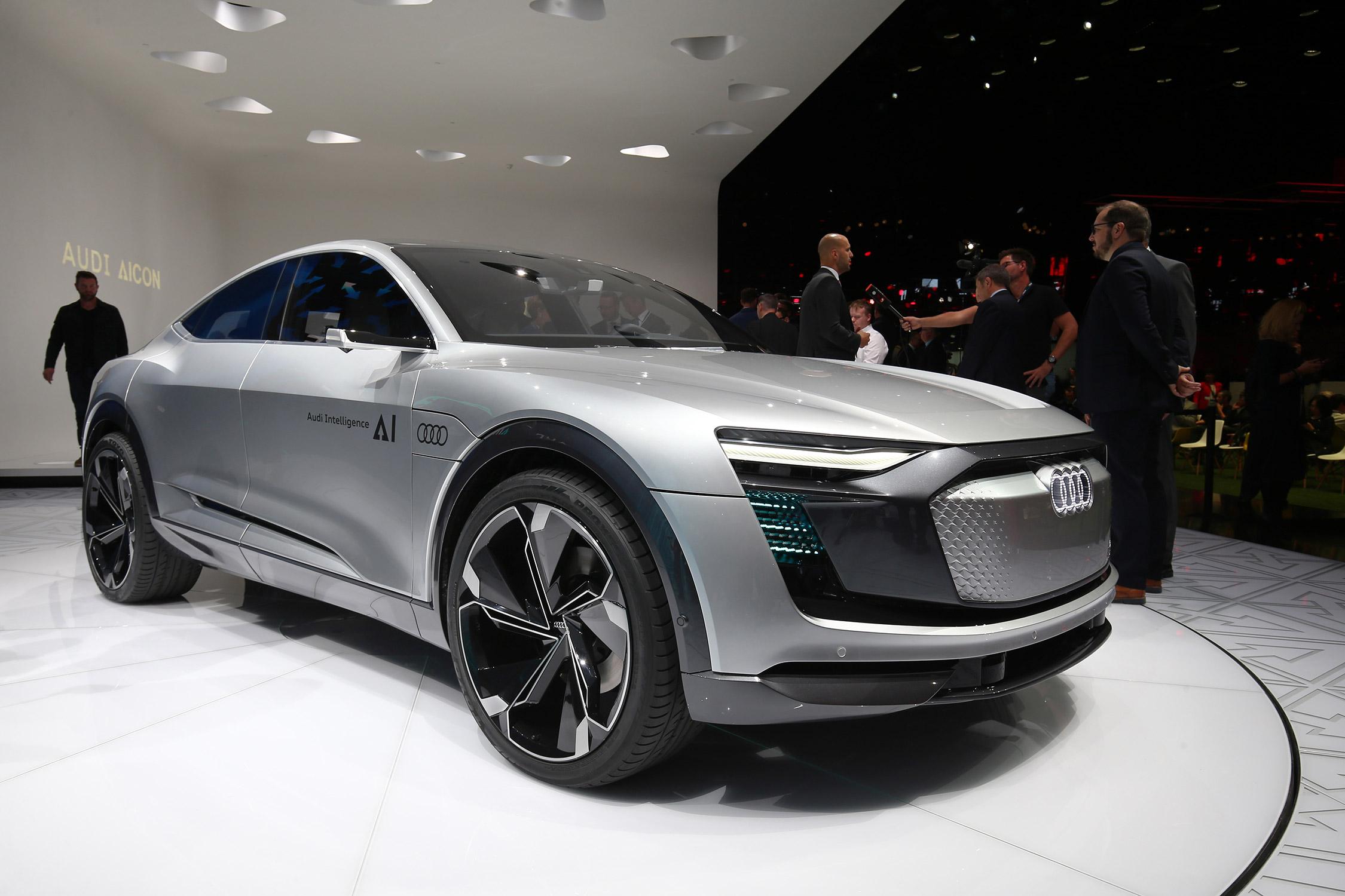 Audi Elaine Salon De Francfort 2017 Motorlegend Com