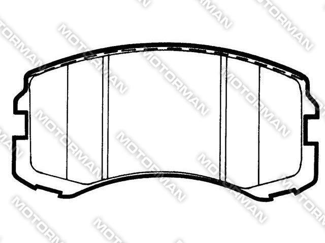 BRAKE PAD D904-7782BUICK, GEELY, AUDI Brake Pad