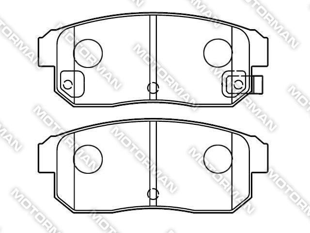 BRAKE PAD D900-7777BUICK, GEELY, AUDI Brake Pad