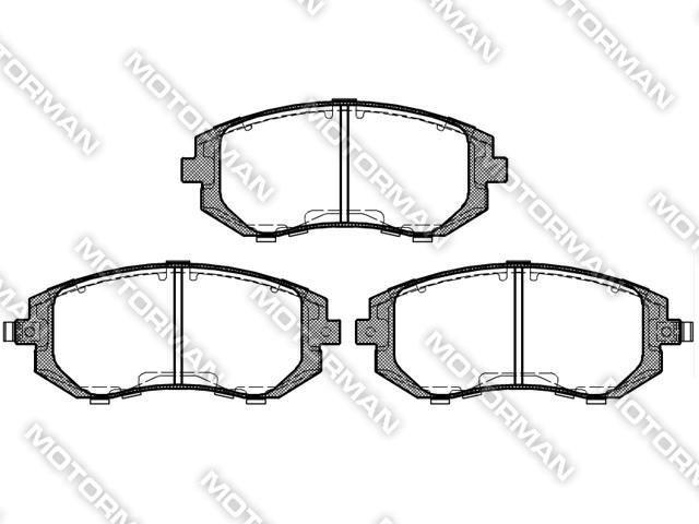 BRAKE PAD D929-7830BUICK, GEELY, AUDI Brake Pad