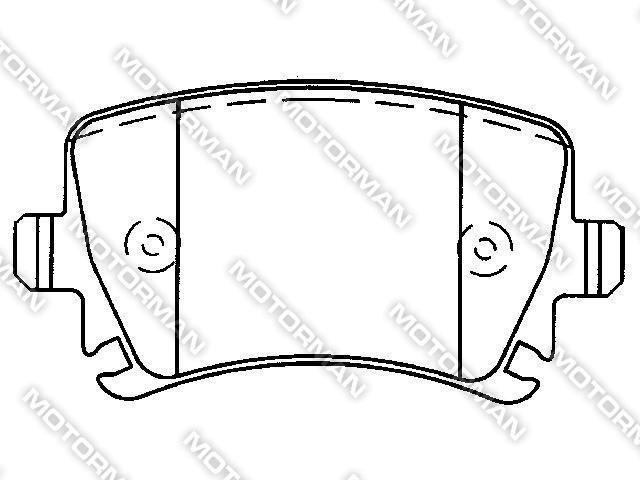 BRAKE PAD D1108-8213BUICK, GEELY, AUDI Brake Pad