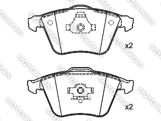 BRAKE PAD D915-8220BUICK, GEELY, AUDI Brake Pad