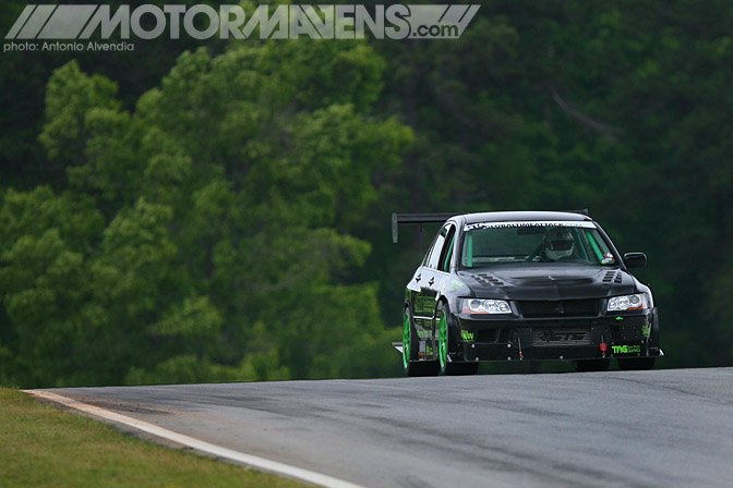 Global Time Attack Road Atlanta GTA Professional Awesome Racing Mitsubishi Lancer Evolution 7 Evo7 Dan O'Donnell Jason Dienhart