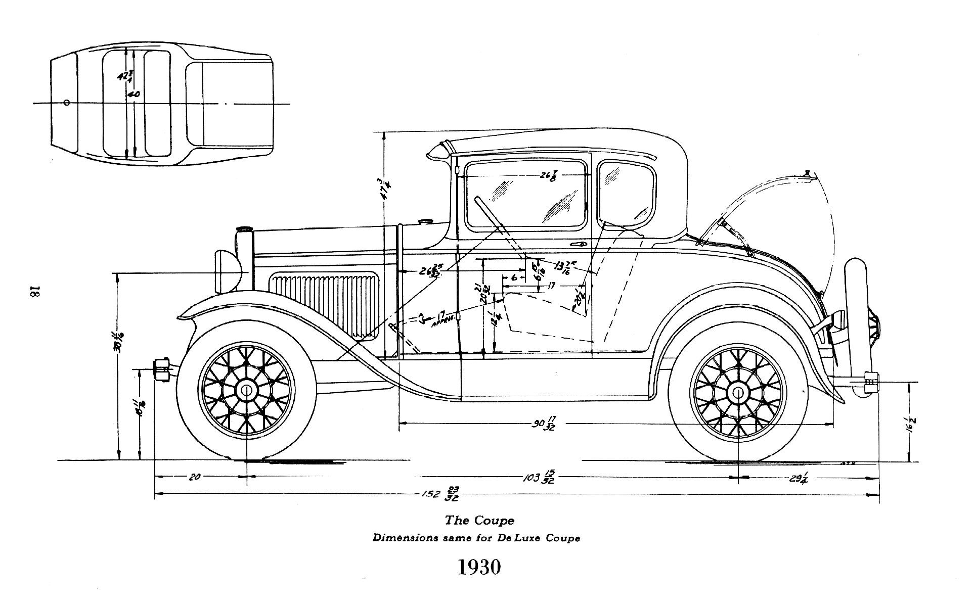 Ford Model A Body Dimensions Motor Mayhem
