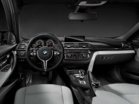 © BMW AG / The all-new BMW M3 Sedan/Saloon, Interior. Upholstery Full Leather Merino Silverstone. Interior Trim Finishers Carbon Fibre. Highlight Trim Finishers Black Chrome. 12/2013