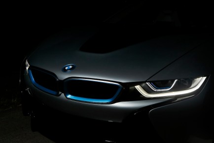 © BMW GROUP / BMW i8, Laserlicht