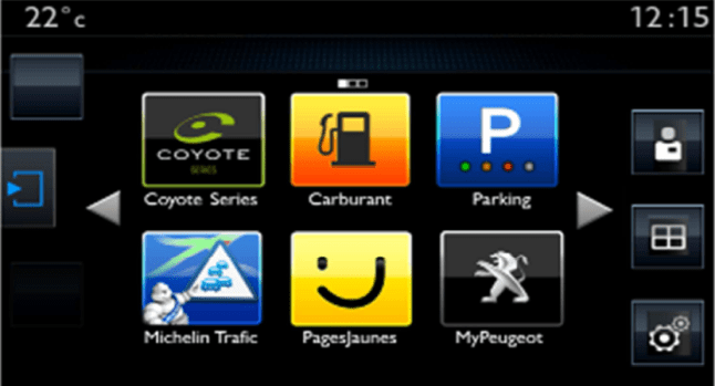 © Peugeot / Peugeot 308SW Peugeot Connect Apps 07-04-14
