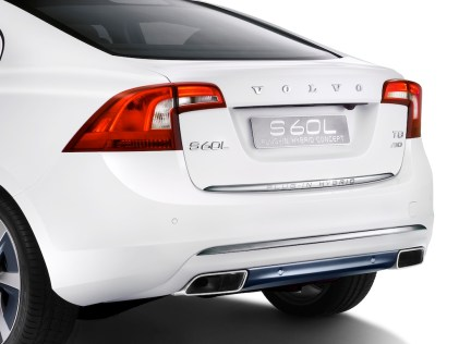 © Volvo / Volvo S60L PPHEV (Petrol Plug-in Hybrid Electric Vehicle) Concept Car