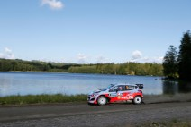 © Hyundai Motorsport / Das Hyundai Shell World Rally Team fliegt in Finnland auf den sechsten Platz