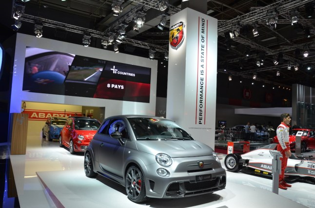 © MotorNews kw / Pariser Automobilsalon 2014 / Abarth