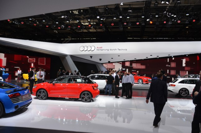 © MotorNews kw_Pariser Automobilsalon 2014 / Audi