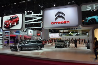 © MotorNews kw_Pariser Automobilsalon 2014 / Citroen Messestand