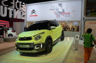 © MotorNews kw_Pariser Automobilsalon 2014 / Citroen Weltpremiere C1 Urban Ride