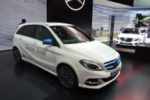 © MotorNews kw_Pariser Automobilsalon 2014 / Weltpremiere Mercedes-Benz B-Klasse Electric Drive
