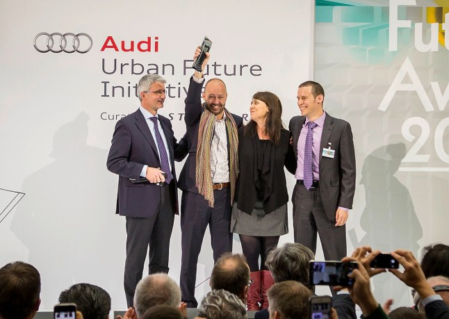 © Audi / Datensammler aus Mexico City gewinnen Audi Urban Future Award 2014