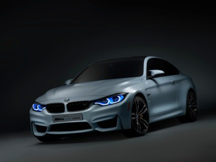 © BMW Group / BMW M4 Concept Iconic Lights_ Tagfahrlicht