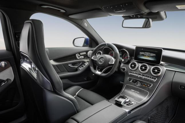 © Daimler / Mercedes-AMG C 63 S T-Modell / Interieur / MY2015