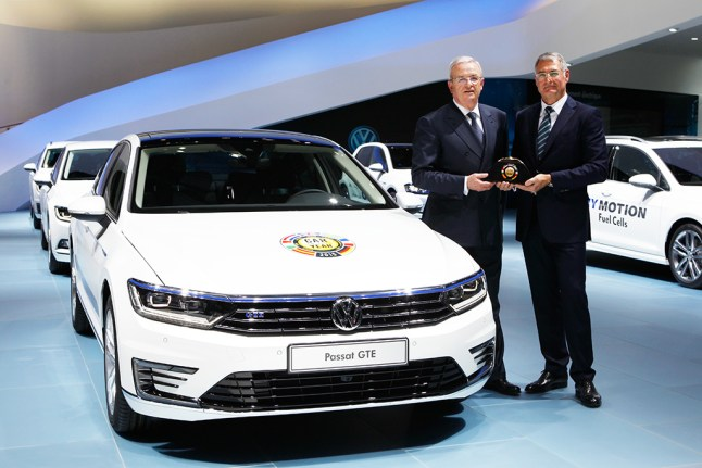 "© Volkswagen / Der neue Passat ist ""Car of the Year 2015"""