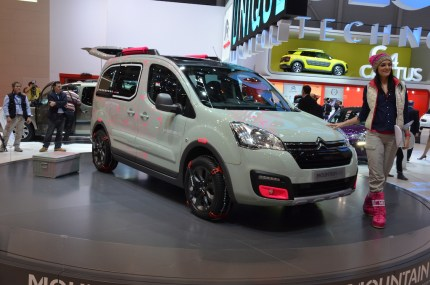 © MotorNews kw / 85. Auto-Salon Genf 2015 / Citroen Berlingo Concept Mountain Vibe