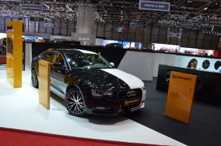 © MotorNews kw / 85. Auto-Salon Genf 2015 / Continental Messestand
