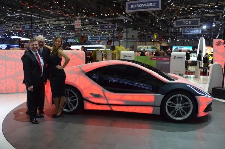 © MotorNews kw / 85. Auto-Salon Genf 2015 / EDAG Light Cocoon
