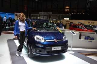 © MotorNews kw / 85. Auto-Salon Genf 2015 / Fiat Panda K-Way