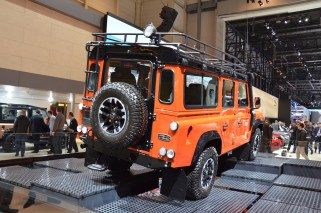 © MotorNews kw / 85. Auto-Salon Genf 2015 / Land Rover Defender