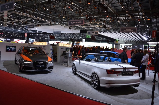 © MotorNews kw / 85. Auto-Salon Genf 2015 / Motoren Technik Mayer Messestand