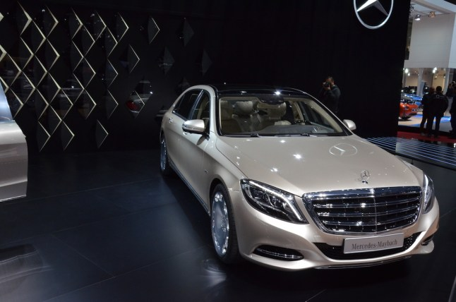 © MotorNews kw / Auto-Salon Genf 2015 / Mercedes-Maybach
