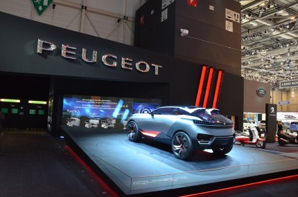 © MotorNews kw / 85. Auto-Salon Genf 2015 / Peugeot QUARTZ Concept Car