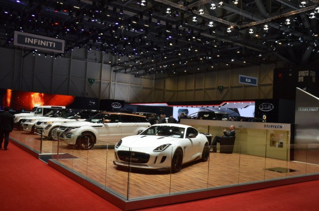 MotorNews kw Genf 2015 STARTECH Messestand