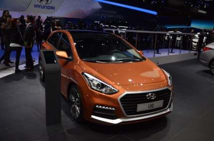 © MotorNews kw / 85. Auto-Salon Genf 2015 / Hyundai i30 Turbo