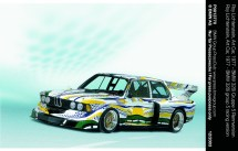 © BMW AG / Roy Lichtenstein, Art Car, 1977 - BMW 320i Gruppe 5 Rennversion (12/2003)