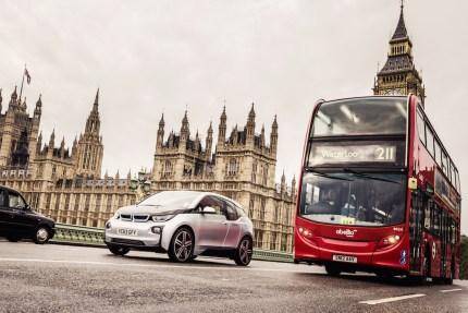 © BMW Group / BMW i3 bei DriveNow in London (05/2015)