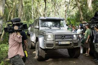 © Daimler / Mercedes-Benz in Universal Pictures' and Amblin Entertainment's Jurassic World: Die Dinosaurier sind zurück