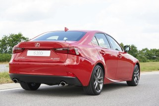 © Toyota Deutschland / Neuer Lexus IS mit innovativem 2,0 Liter Turbo-Benzinmotor