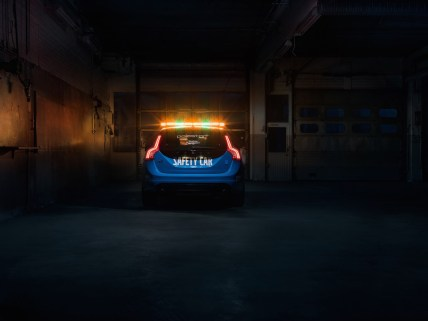 Bildrechte: Volvo Car / MotorNews kw / Der Volvo V60 Polestar - das WTCC Safety Car