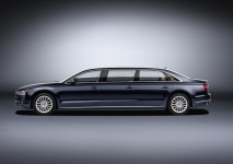 © Audi AG / Audi A8 L extended / Colour: moonlight blue metallic