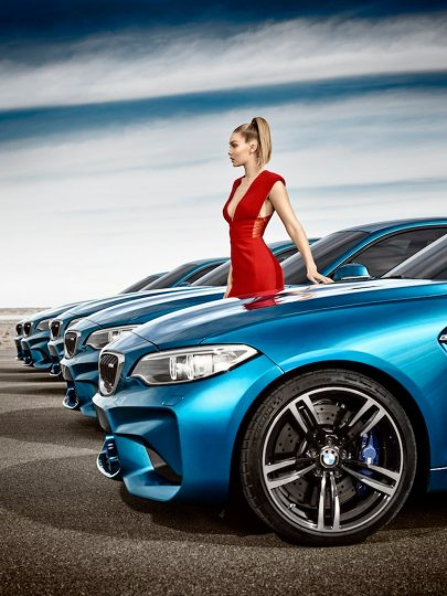 "© BMW Group / ""Eyes On Gigi"" BMW präsentiert interaktive Kampagne zum neuen BMW M2 Coupé"