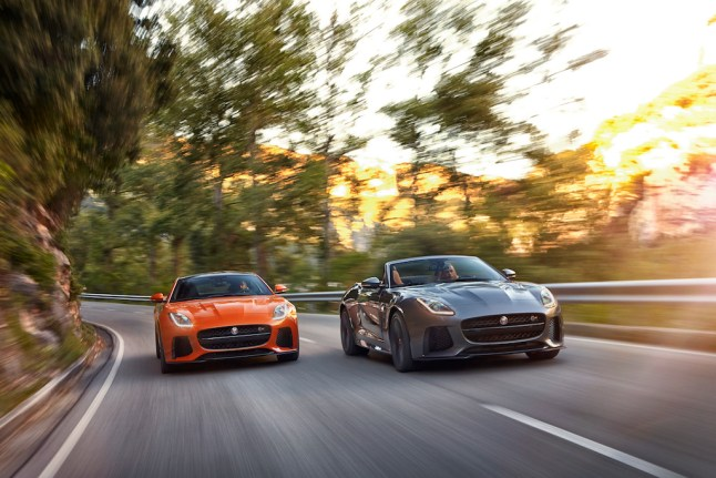 © Jaguar Land Rover / Jaguar F-TYPE SVR Coupe & Cabriolet