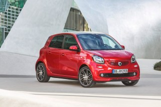 © Daimler AG / Neuer smart BRABUS forfour Xclusive, 2016, red