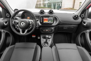 © Daimler AG / Neuer smart BRABUS / smart BRABUS forfour Xclusive, 2016, red